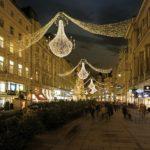 Weihnachtsbeleuchung: Am Graben